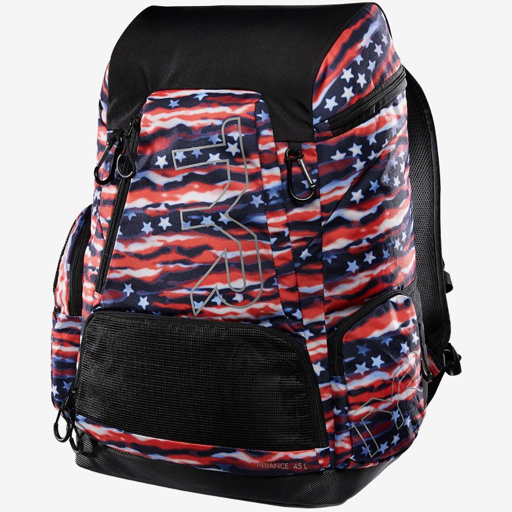 Рюкзак TYR Alliance 45L Backpack - All American Print